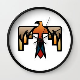 Thunderbird - Native American Indian Symbol Wall Clock