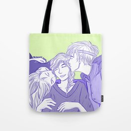 ReyLiaNca New Year's Kisses Tote Bag