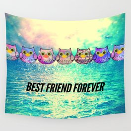 owl-155 Wall Tapestry