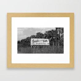 Believe This II Framed Art Print