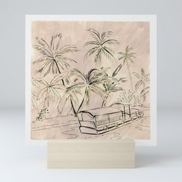 The Lagoon Mini Art Print