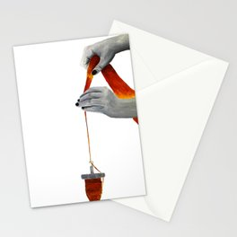 spindle spinning Stationery Cards