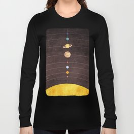 Solar System Long Sleeve T-shirt
