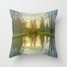 TREE-FLECTED Throw Pillow