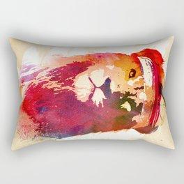 Gym Lion Rectangular Pillow