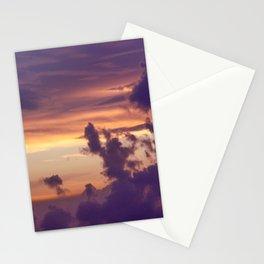 Lilac Sunset Stationery Cards