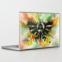 triforce Laptop & iPad Skins featuring Triforce by Fernanda Frasson