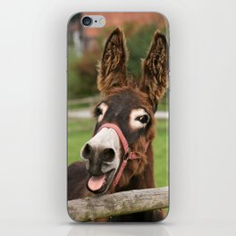 Laughing Donkey | Lachender Esel iPhone Skin