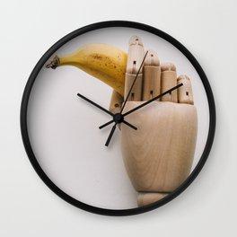 Banana hand Wall Clock