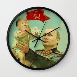 Atta Boy Wall Clock