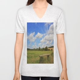 Sit and Enjoy The Countryside Unisex V-Neck