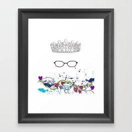 The Princess Diaries - the Princess wears Glasses?! Shut Up! Framed Art Print