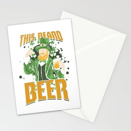 St Paddy's Brewery Ciders Irish Ireland Gift Beer St Patrick's Day Stationery Cards