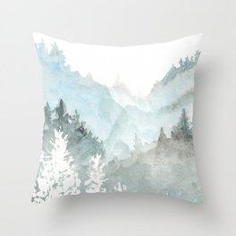 muir woods Throw Pillow