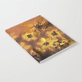 Sunflower Garden Artwork Notebook