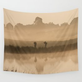 Synchronized shoot Wall Tapestry