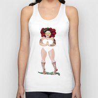 namaste Tank Tops featuring NAMASTE by Giulio Rossi