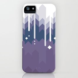 Mountains Abstract iPhone Case