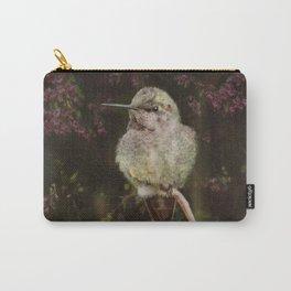 Anna's Hummingbird - Backyard Birds Carry-All Pouch