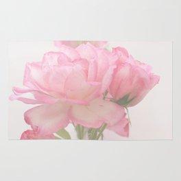 Gentleness - Soft Pink Rose #1 #decor #art #society6 Rug
