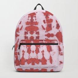 Kumo Shibori Coral Backpack