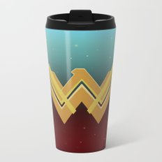 WW Movie Logo Metal Travel Mug