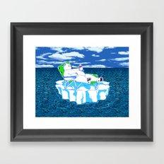 More Ice Please Framed Art Print