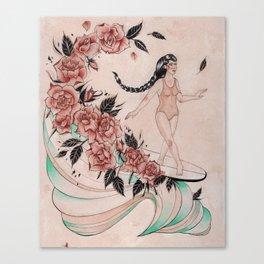 Cross Step Dancer Canvas Print