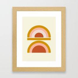 Last Rainbow Framed Art Print