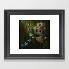 A Little Curiosity Framed Art Print