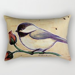 Smol Wildbird Rectangular Pillow