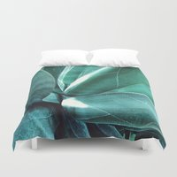 cactus Duvet Covers featuring Cactus by Alexandra Str