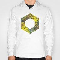 hexagon Hoodies featuring Hexagon by Daniel DeVinney