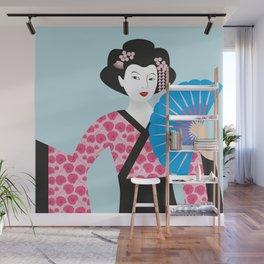 Geisha #2 Wall Mural