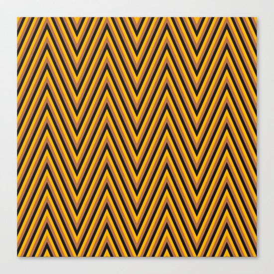 Chevron 2 Canvas Print