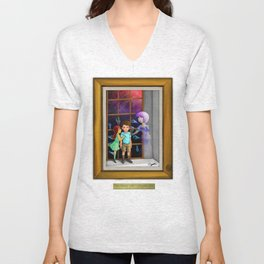 The Hands Can't Resist Him Unisex V-Neck