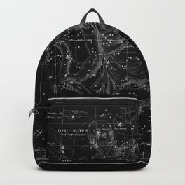 Celestial Map print from 1822 Backpack