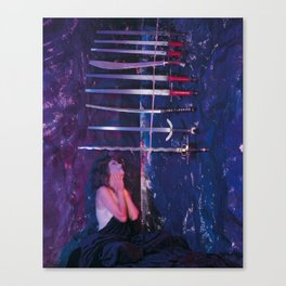 9 of Swords Canvas Print