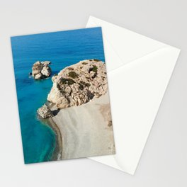 Aphrodite's Rock Cyprus Stationery Cards