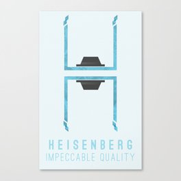 Breaking Bad: Heisenberg - Impeccable quality Canvas Print