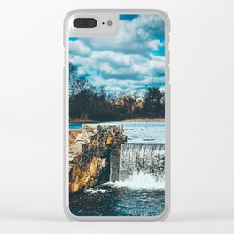Waterfall afternoon Clear iPhone Case