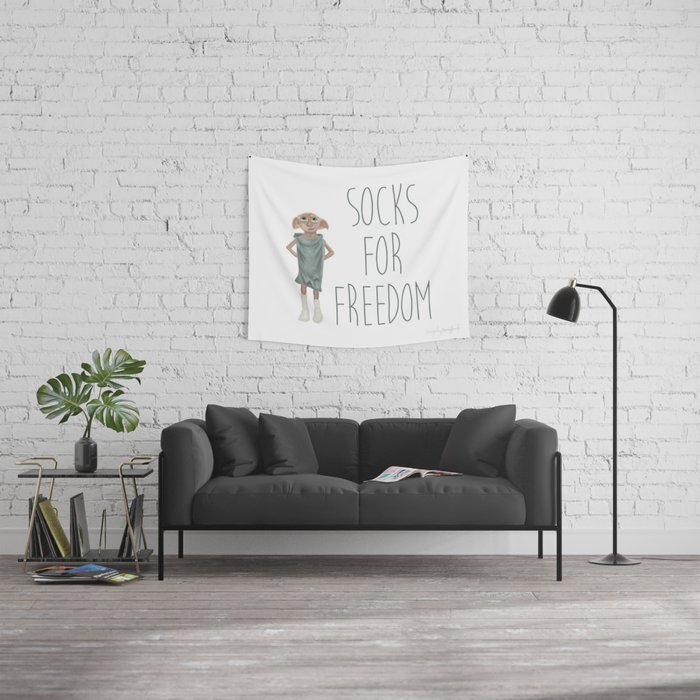 Socks for Freedom Wall Tapestry