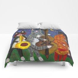 Jazz Cats Comforters