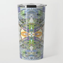 Heart of the Matter Vintage Neo Tribal Aztec/Tibetan Inspired Boho Mandala Travel Mug