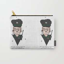 Vegetarian Polis Officer  Carry-All Pouch