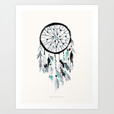 Solstice Dream Catcher Art Print