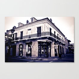 One Day on Rue Royale Canvas Print