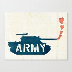 The Love Army Canvas Print