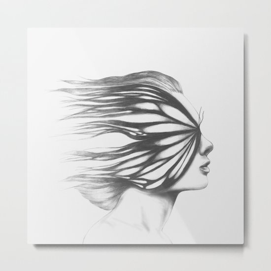 Existence of a Fading Memory Metal Print