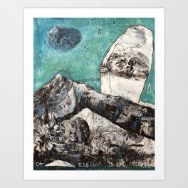 Bridges Between Art Print